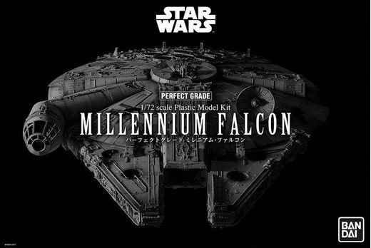 "Revell 01206 - réplique 1/72 Millenium STAR WARS - BANDAI Millennium Falcon ""Perfect Grade"""