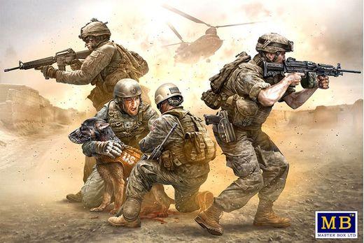 Figurines militaires : No soldier left behind - 1:35 - Masterbox 35181