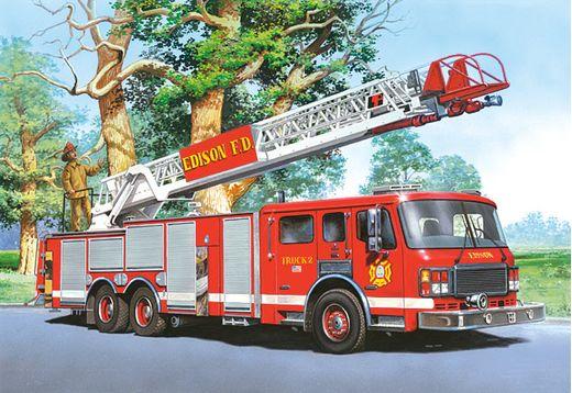 Puzzle Camions de pompiers 60 pièces - Castorland06595