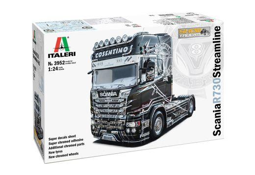 Maquette de camion : Scania R730 Streamline Show Truck - 1:24 - Italeri 3952 03952