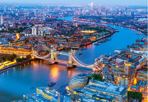 Puzzle Londres - 1000 pièces - Castorland 104291