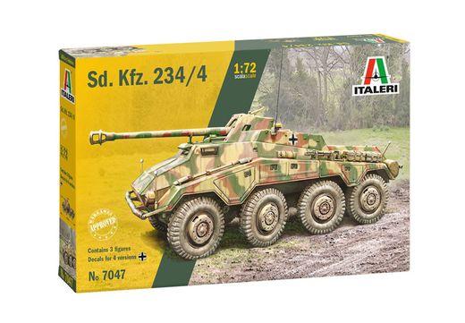 Maquette militaire : Sd.Kfz.234/4 - 1:72 - Italeri 07047 7047