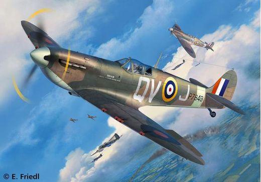 Maquette avion militaire Spitfire Mk I/II - 1:32 - Revell 03986