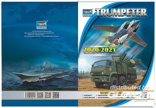 Catalogue maquettes Trumpeter 2020 -2021