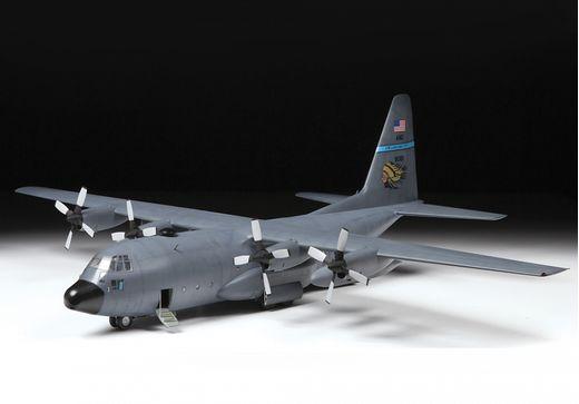 Maquette d'avion militaire : C-130H Hercules - 1/72 - Zvezda 07321 7321
