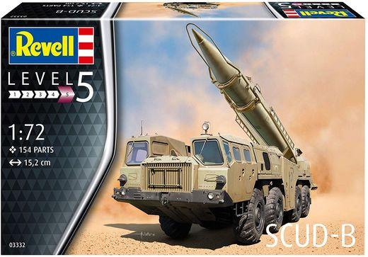 Maquette militaire : SCUD-B - 1:72 - Revell 03332, 3332Maquette militaire : SCUD-B - 1:72 - Revell 03332, 3332