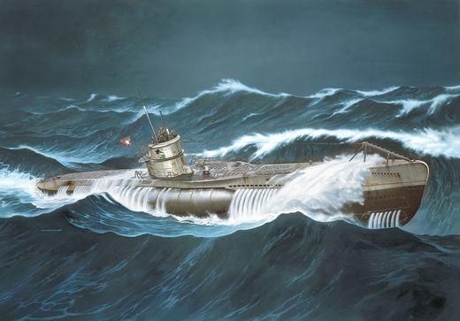"Maquette sous-marin : Coffret Cadeau Film ""Das Boot"" 40e Anniversaire - 1:144 - Revell 05675, 5675"