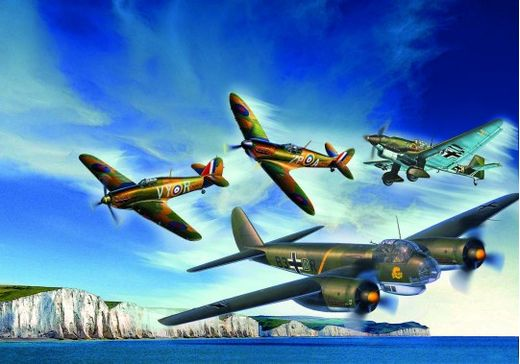 Maquettes militaires : 80e Anniv. Bataille Angleterre - 1:72 - Revell 05691, 5691