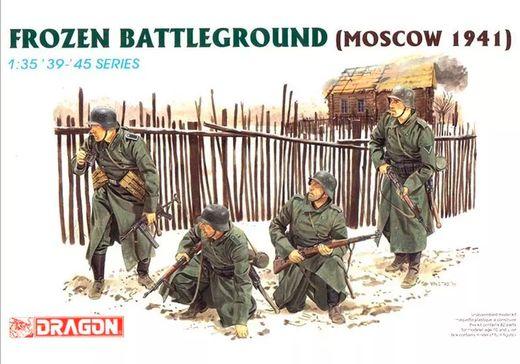 Figurines militaires : Soldats Allemands Moscou 1941 - 1/35 - Dragon 06190 6190