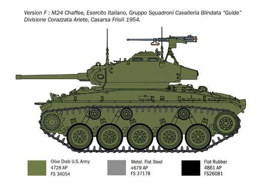 Maquette militaire : M24 Chaffee « Guerre de Corée » - 1/35 - Italeri 6587 06587