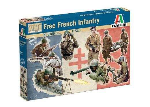 Figurines militaires : Infanterie Française Fin 2e GM - 1/72 - Italeri 06189