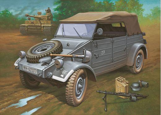 Maquette Militaire : Kübelwagen Type 82 - 1:9 - Revell 03500, 3500
