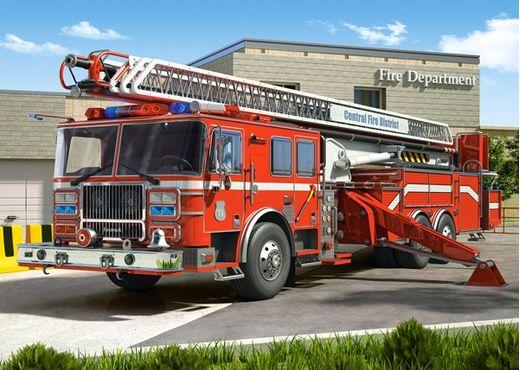 Puzzle Camions de pompiers 260 pièces - Castorland 27040