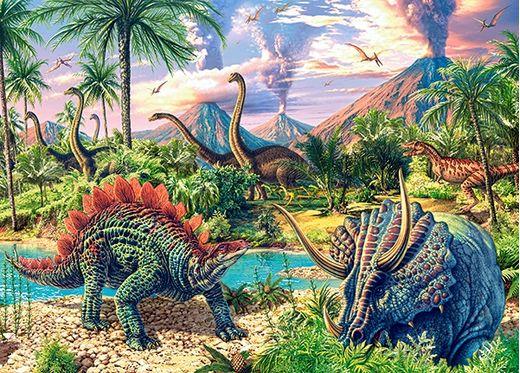 Puzzle Dinosaures - 120 pièces - Castorland 13234-1