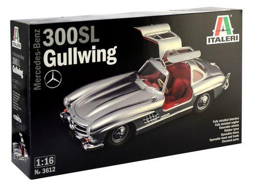 Maquette Mercedez Benz 300 SL Gullwing 1:16 - Italeri 3612, 01612