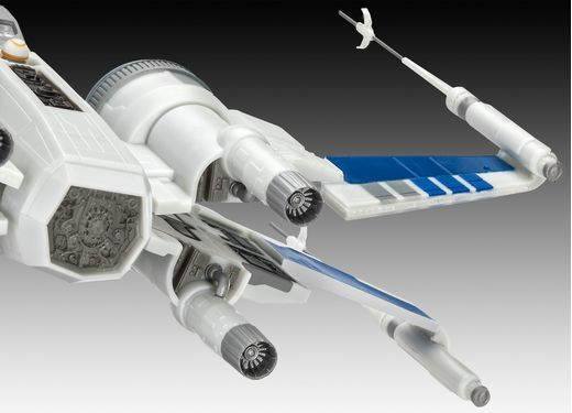 Maquette Star Wars : Model set Resistance X-Wing Fighter - 1/50 - Revell 6744 06744