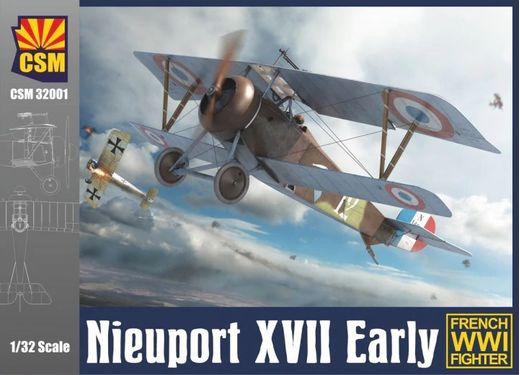 Maquette avion NIEUPORT XVII EARLY - COPPER STATE MODELS 32001- 1/32