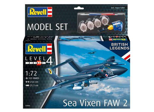 Boîte maquette avion : Model Set Sea Vixen Faw 2 - 1:72 - Revell 63866