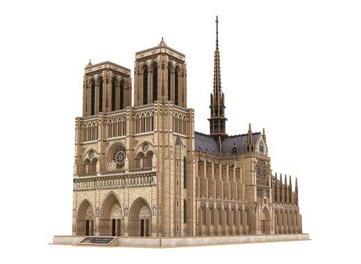 Puzzle 3D : Cathédrale Notre-Dame de Paris - Revell 190, 00190