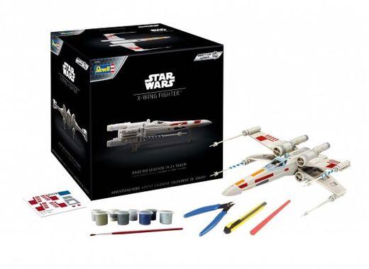 Maquette Easy-Click Star Wars  : Calendrier De L'Avent X-Wing Fighter - 1:57 - Revell 01035, 1035