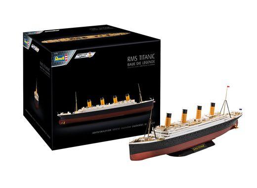 Maquette Easy-Click Bateau : Calendrier De L'Avent Rms Titanic 1:600 - Revell 01038, 1038