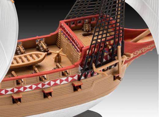 Maquette de voilier : Hms Revenge - 1/350 - Revell 5660 05660
