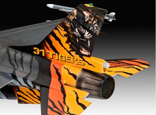 Maquette militaire : Model Set F-16 Mlu 31 Sqn. Klein - 1:72 - Revell 63860 - france-maquette.fr