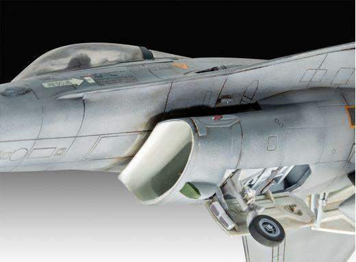 Maquette avion : F-16 Mlu 31 Sqn. Kleine Brogel 1:72 - Revell 03860, 3860 - france-maquette.fr