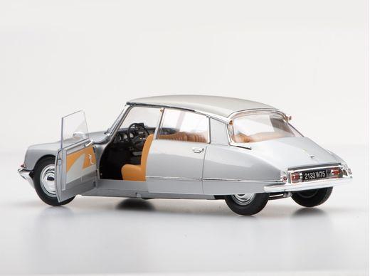 Maquette voiture de collection : Citroën DS21 - 1/24 - Ebbro 25009