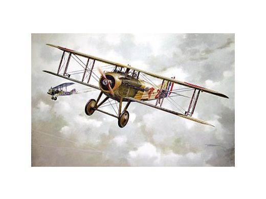 Maquette avion militaire : Spad VII Georges Guynemer 1917 - 1/32 - Roden 604