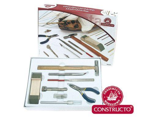 Coffret d'outils pour maquettes en bois - Constructo 80450