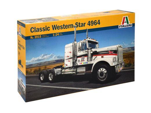 Maquette camion : Western Star Classic 4964 - 1:24 - Italeri 03915