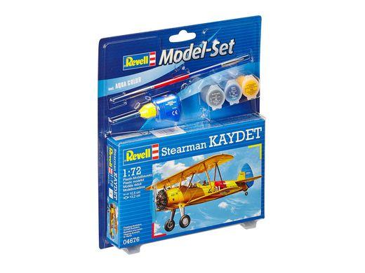 Maquette d'avion militaire : Model set Stearman KAYDET - 1:72 - Revell 64676