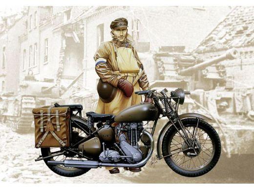 Figurines militaires : Triumph 3HW - 1/9 - Italeri 07402