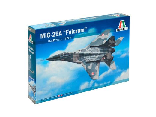 Maquette avion militaire : MIG 29A Fulcrum - 1/72 - Italeri 01377