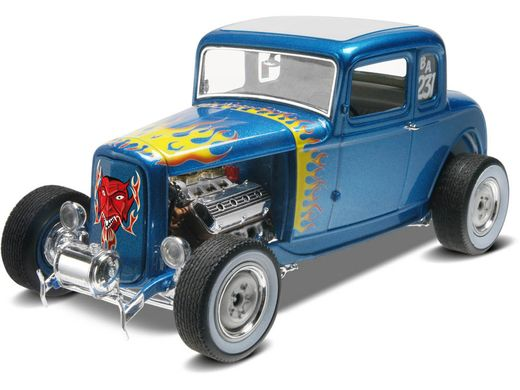 Maquette de voiture de collection : '32 Ford 5 Window Coupé - 1/25 - Revell 14228