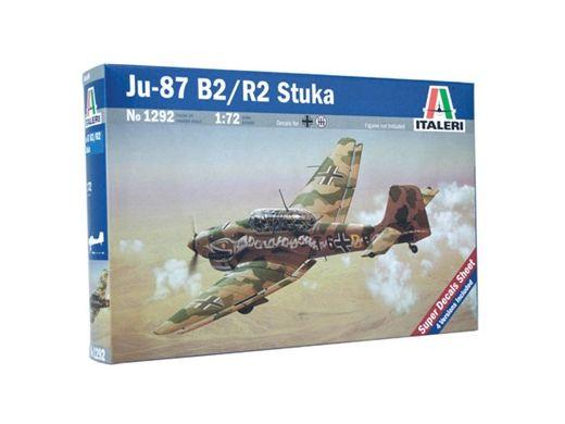 Maquette d'avion : JU-87 B2 STUKA