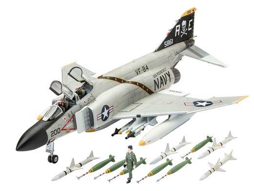 Maquette avion militaire : F-4J Phantom US navy - 1:72 - Revell 3941