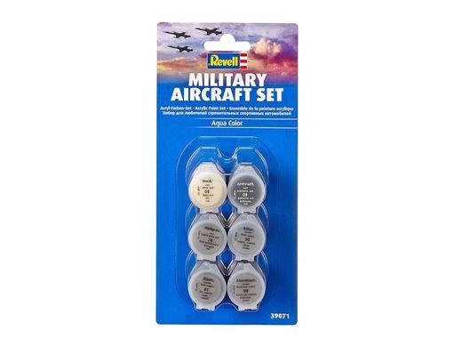 Accessoires de modélisme : Set de peintures acryliques pour avion militaire - Revell 39071