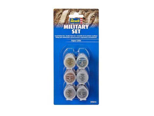 Set de peintures acryliques militaires - Revell 39075