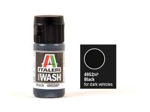 Peinture maquette : Jus Acrylique Noir – Italeri 4952AP