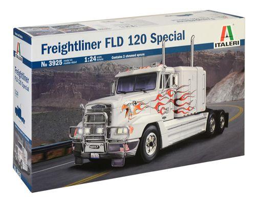 Maquette de camion : Freightliner FLD 120 Classic - 1/24 - Italeri 3925