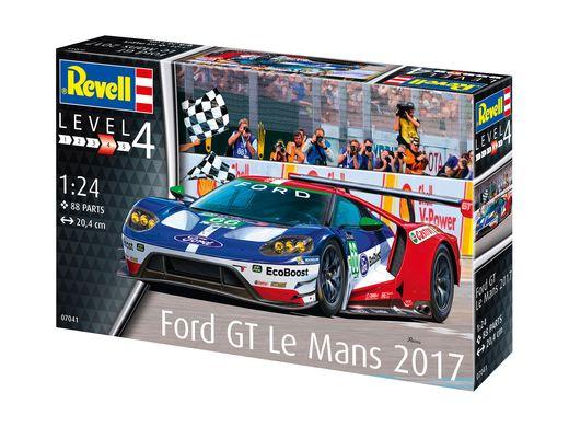 Maquette de voiture : Ford GT Le Mans 2016 - 1/24 - Revell 7041 07041