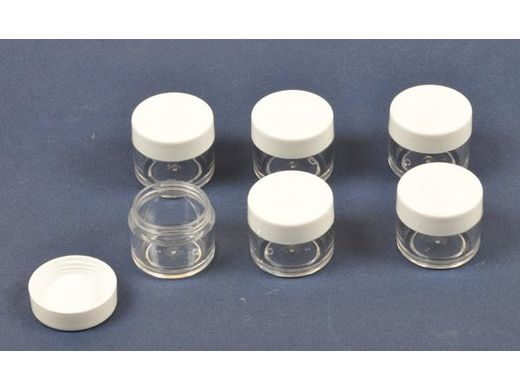 peinture maquette : pots vides en plastique - T2M 81040
