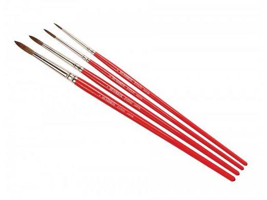 Set de pinceaux naturels 0, 2, 4, 6 - Humbrol AG4150