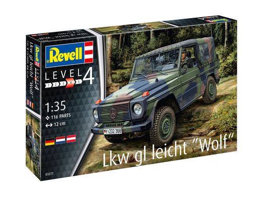"Maquette véhicule militaire : Camion Léger ""Wolf"" - 1/35 - Revell 3277 03277"