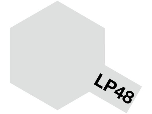 Tamiya LP-48 Sparkling silver - Tamiya 82148, Peinture laquée