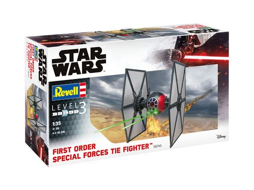 Maquette Star Wars : Tie Fighter - 1/35 - Revell 6745 06745