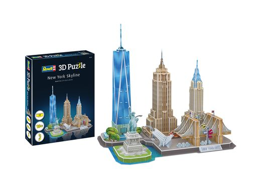 Puzzle 3D : City Line New York City - Revell 142 00142