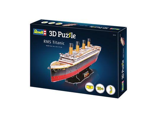 Puzzle 3D : Titanic - Revell 170, 00170